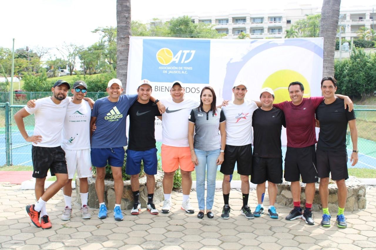 Colima obtiene el campeonato y subcampeonato en Torneo de Tenis