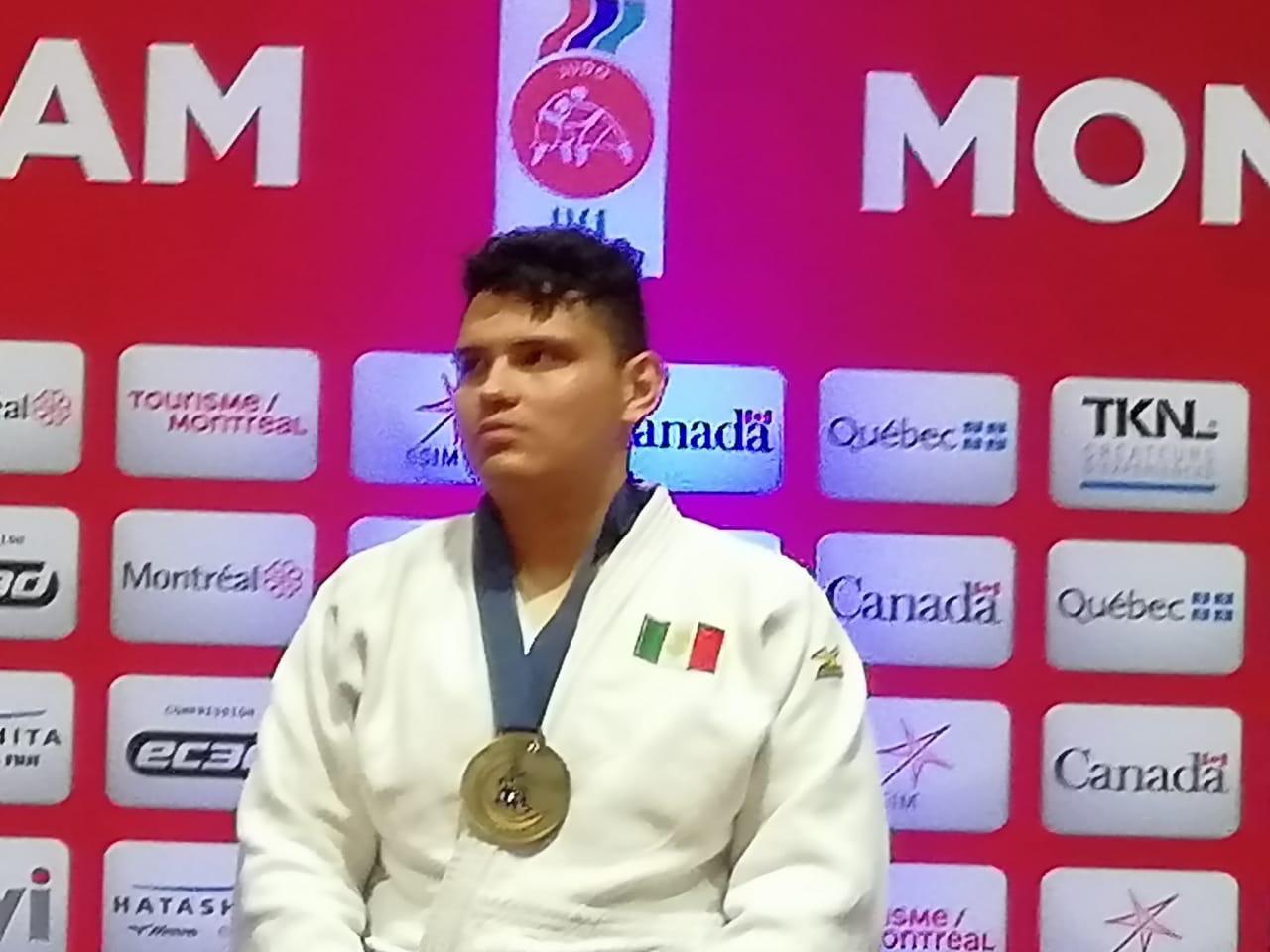 El colimense Brayan Misael Valencia logra medalla de oro en Campeonato Parapanamericano de Judo