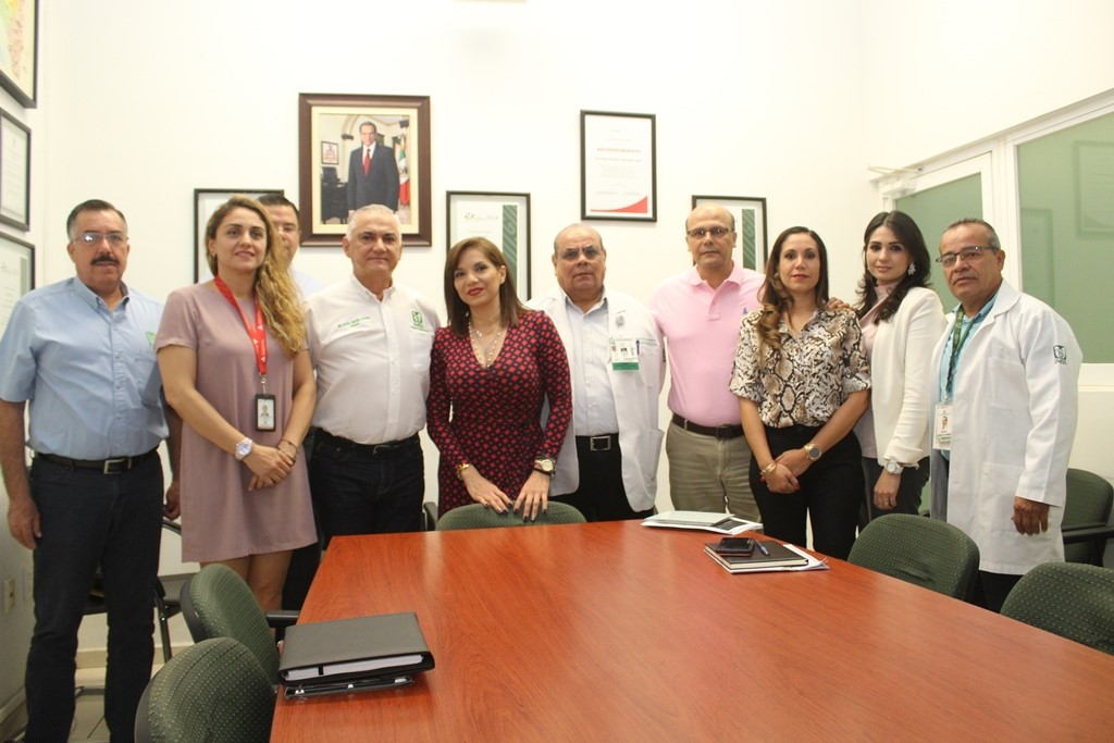 Fortalecen coordinación Secretaría de Salud e Imss por el Insabi