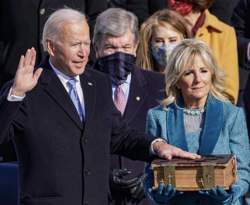Joe Biden toma posesión como el nuevo presidente de los Estados Unidos