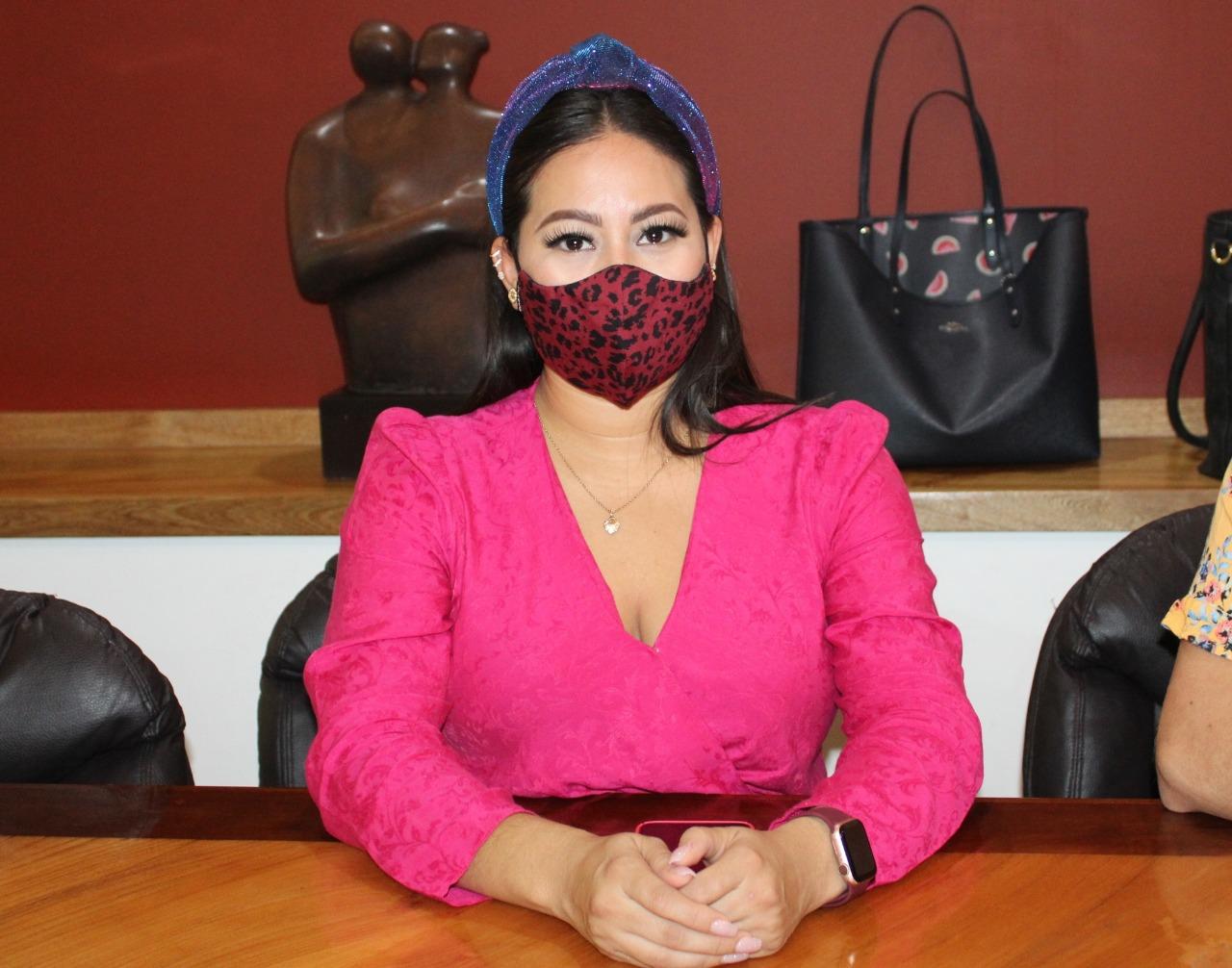 Ana Karen Hernández se registra como precandidata a la diputación federal del Distrito 02 por Morena