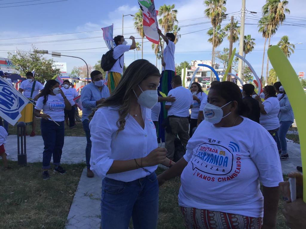 Necesitamos un Congreso que crea en la innovación política: Fernanda Salazar