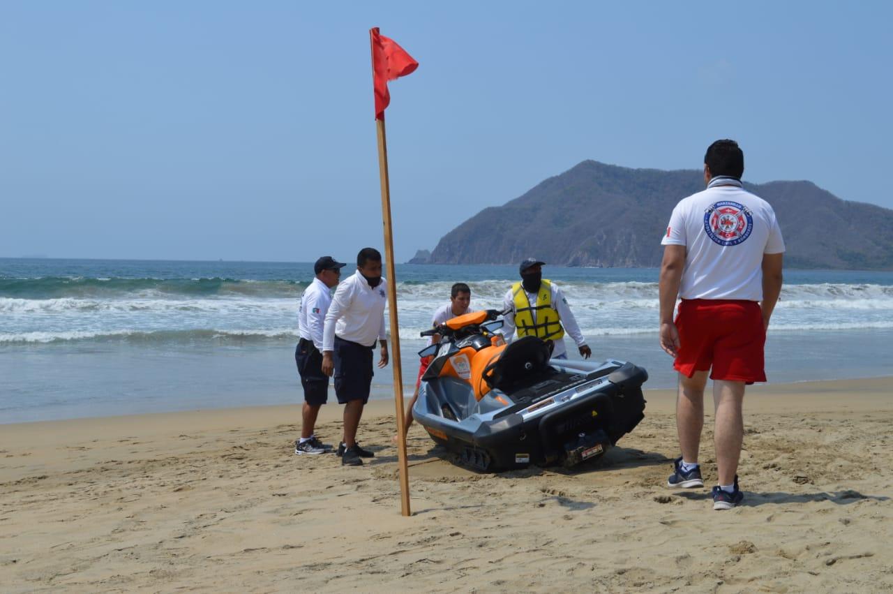 Continuarán los operativos de guardavidas en playas de Manzanillo, durante la semana de Pascua