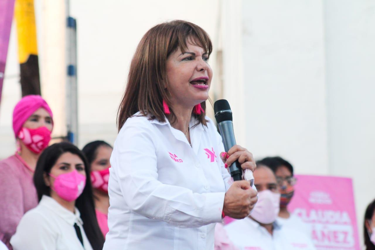 Se pronuncia Claudia Yáñez contra el aumento de precios tarifarios de la CFE