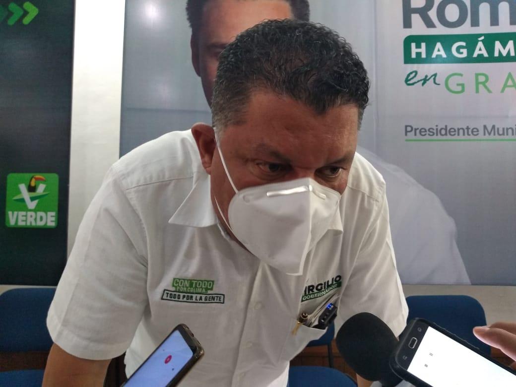 No tengo necesidad de solicitar seguridad personal: Virgilio Mendoza