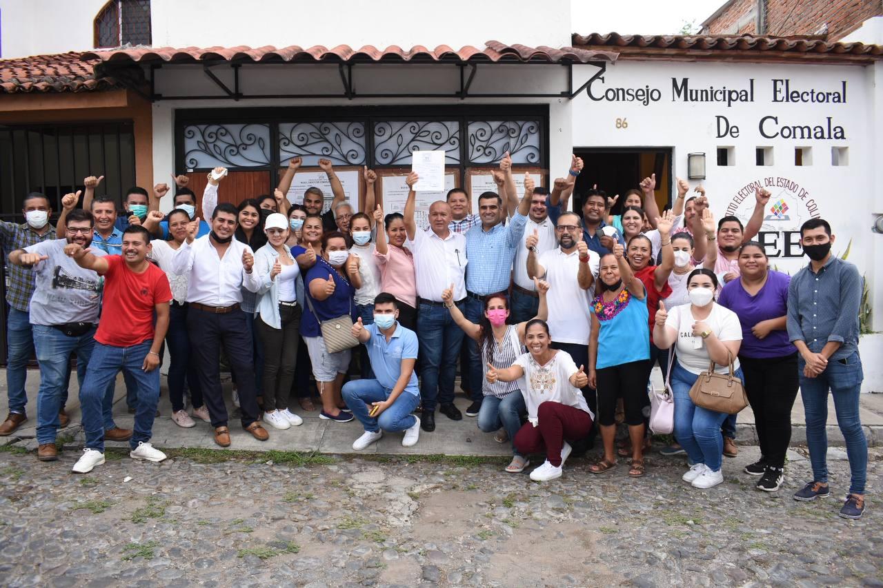 Felipe Michel es ya presidente municipal electo de Comala
