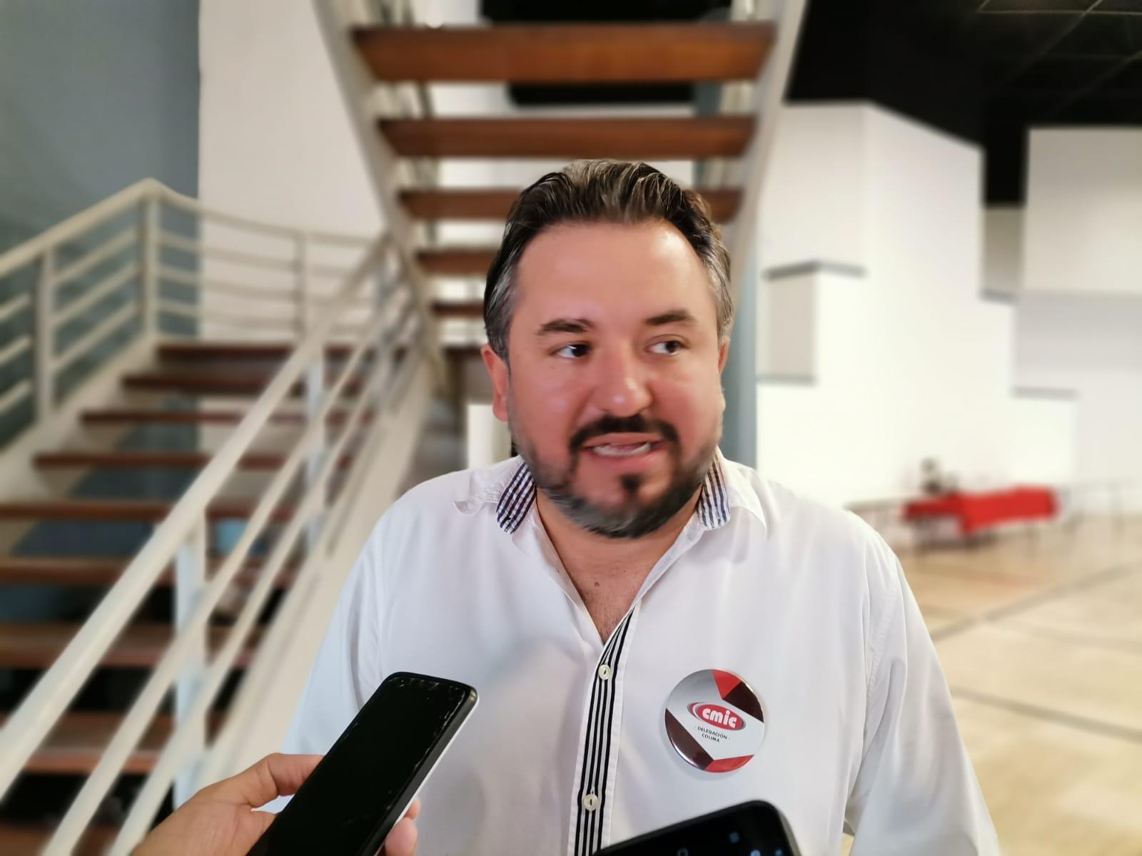 Colima segundo estado con mayor decrecimiento en materia de infraestructura: CMIC