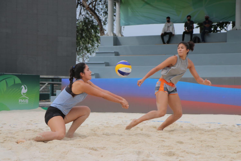 México en semifinales de la Copa Continental de Voleibol de Playa