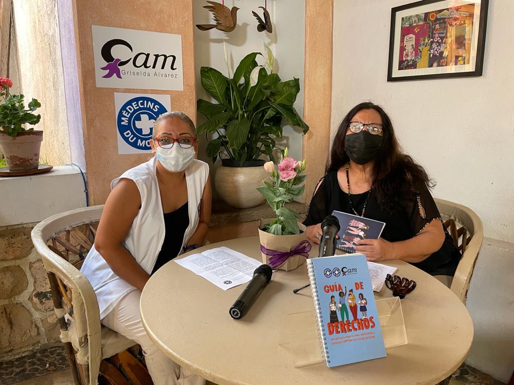 Presenta CAM y Médicos del Mundo guía sobre derechos de las mujeres