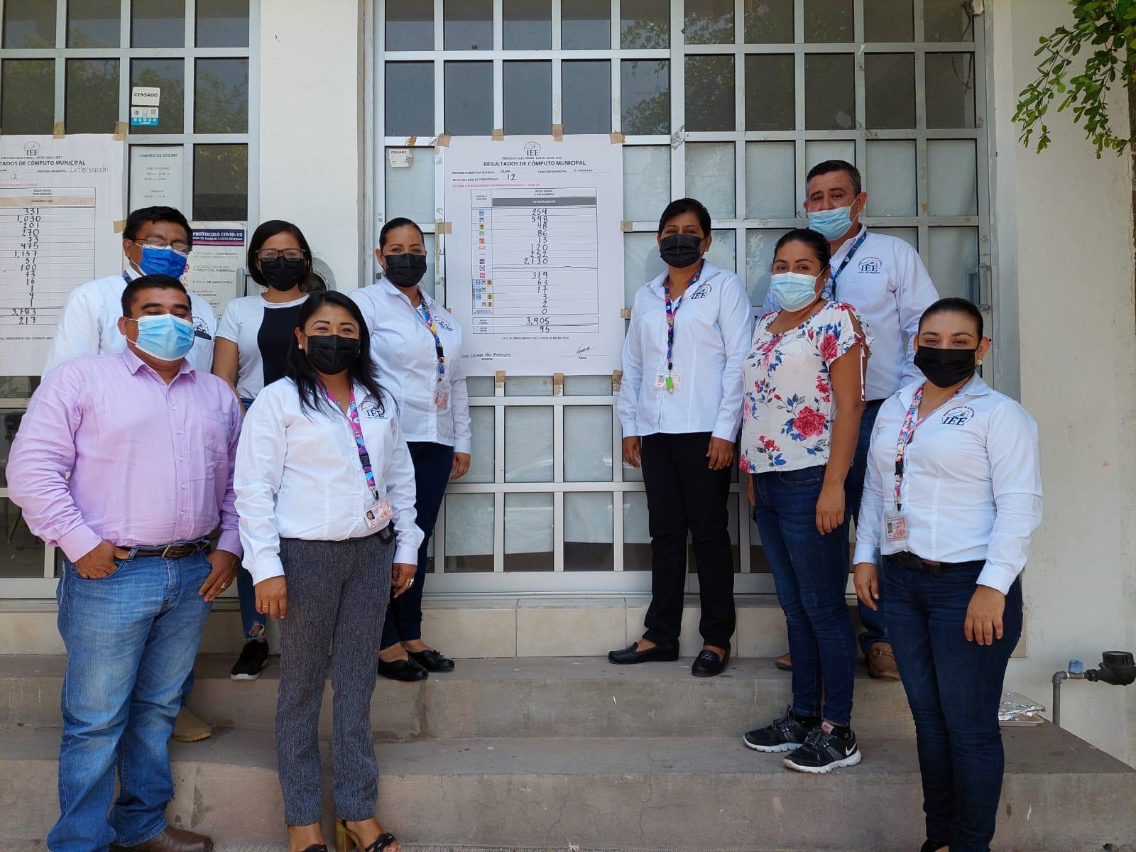 Concluye el cómputo de la elección para Ayuntamiento en Ixtlahuacán, no hay sorpresas