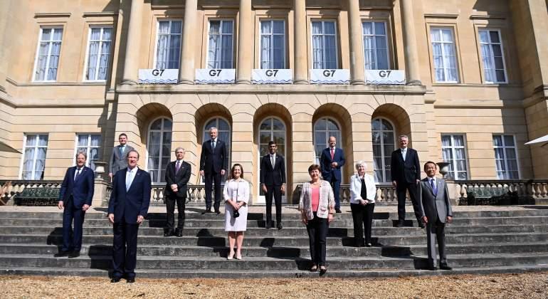 Acuerdo histórico del G7: las grandes empresas pagarán al menos el 15% en impuesto de Sociedades