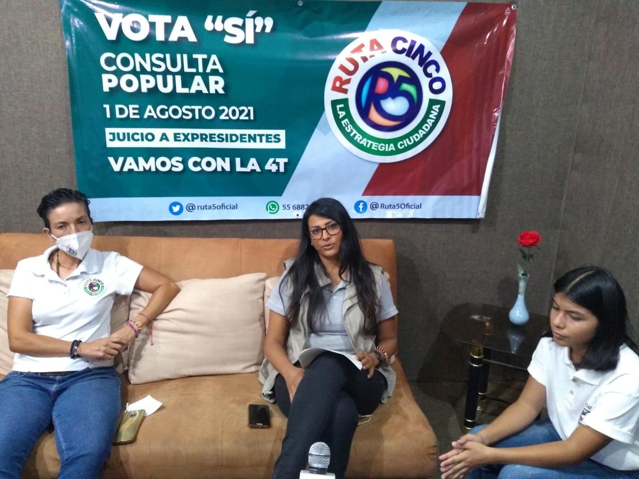 Invita Ruta 5 a participar en la próxima Consulta Ciudadana, este domingo