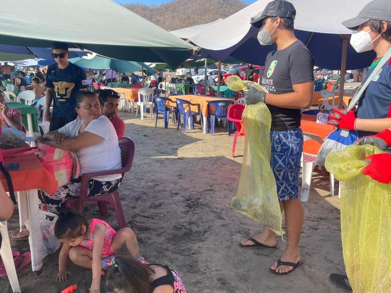 Realizaran limpieza de playas para las tortugas marinas