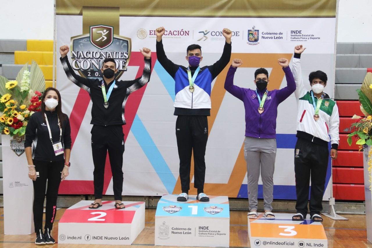 Colimenses logran medallas de plata y bronce en judo de los Nacionales Conade