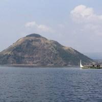 Le volcan Taal près de Manille
