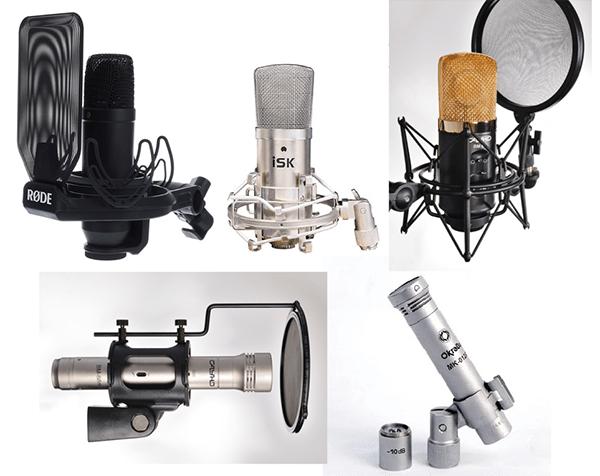 Тест пяти микрофонов