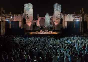 The Festival di Caracalla has been postponed to 2021