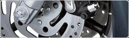 Section de pièces de rechange VW Freins et d'autre pièces automobile du groupe d'assemblage.