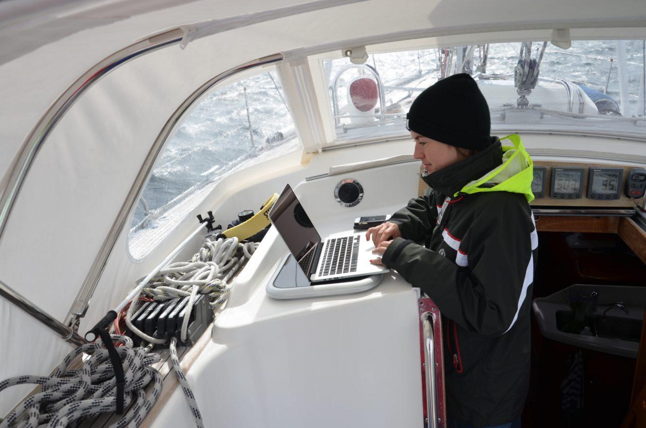 jobbe på båt
