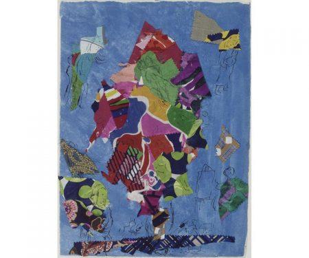 """Marc Chagall, """"Sarrebourg, chapelle des Cordeliers, la Paix ou L'Arbre de Vie"""", 1974,"""