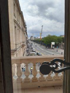 Perspective vers la rue de Rivoli
