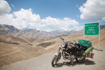 Highest point on the Srinigar-Leh route