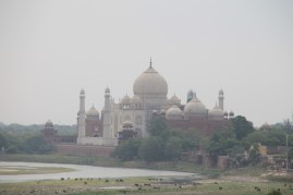 Taj from the Red Fort