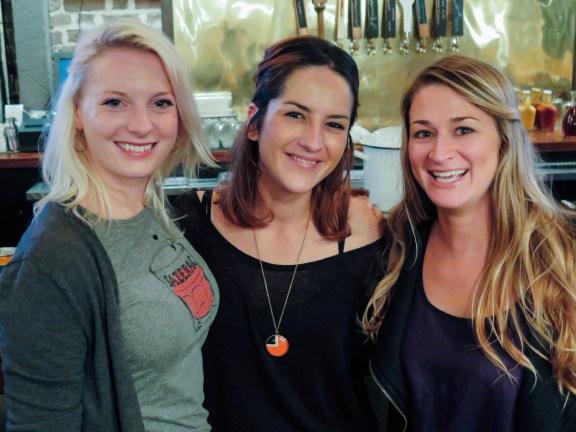 Joanna, Solene & Gretchen