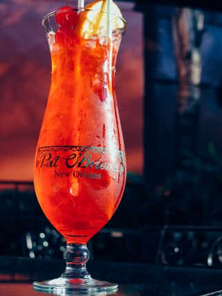 Hurricane - Cocktail traditionnel de la Nouvelle-Orléans, à base de rhum - On recommande ceux de Pat O'Brien