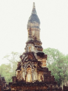 Lotus shape chedi.