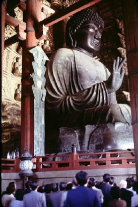 One-of-the-large-Buddha-statues-inside-the-massive-Todai-ji-temple-in-Nara-2