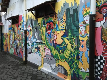 Jogja's street art