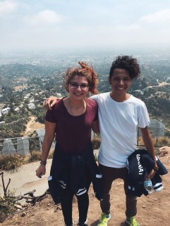 Above the Hollywood Sign
