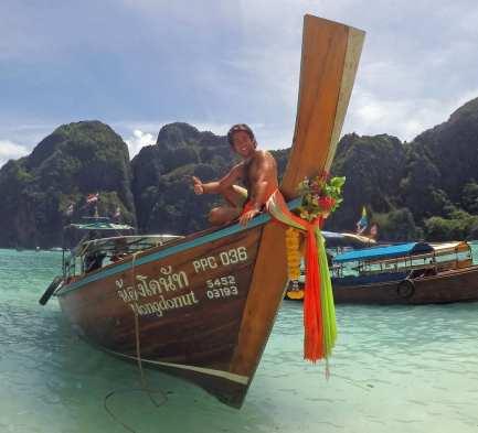 Me in Maya Bay, Koh Phi Phi Leh