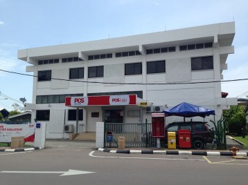 Mersing Malaysia post office
