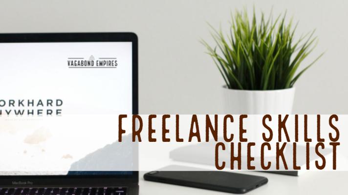 Freelance Skills Checklist