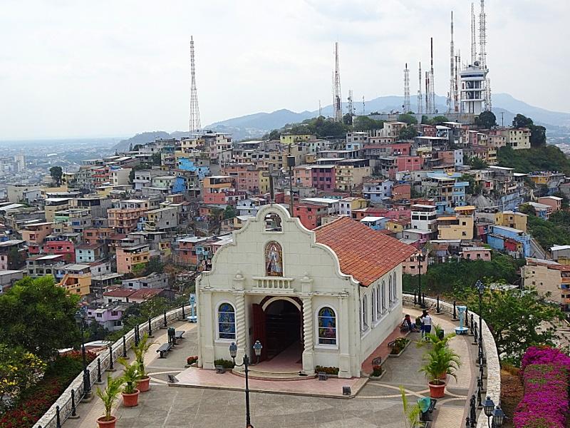 itinéraire en équateur guayaquil
