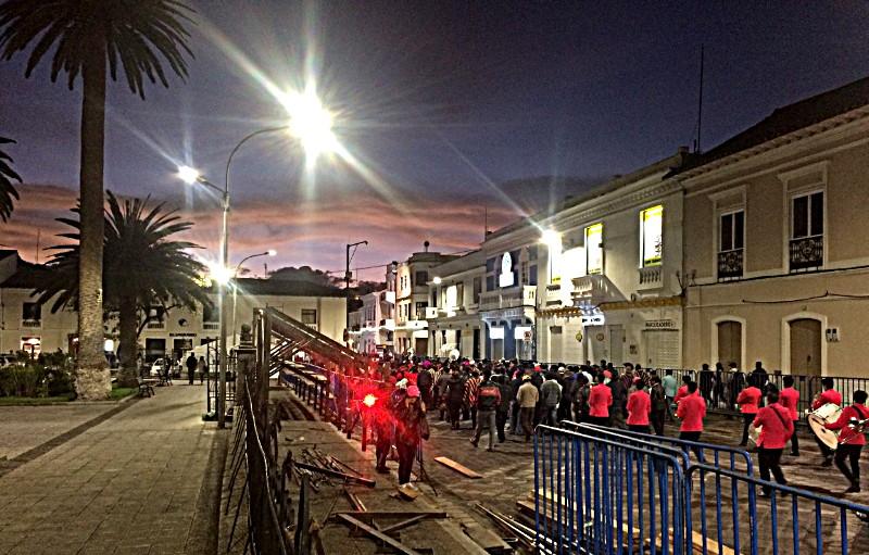 itinéraire en équateur latacunga festival mama negra