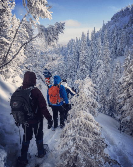 Quoi faire au Saguenay-Lac-Saint-Jean visiter les Monts-Valin