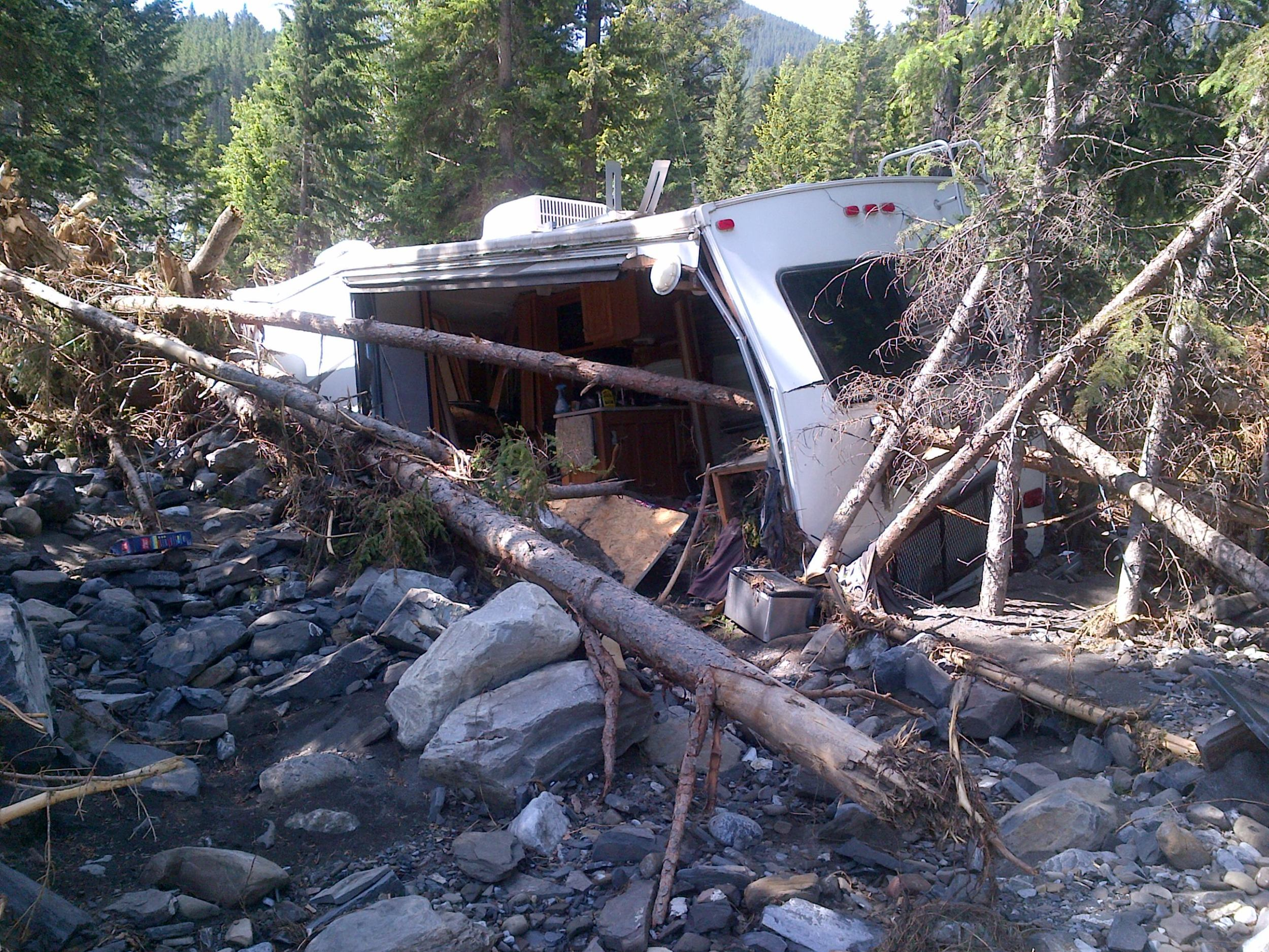 Alberta Flood Damage of 2013