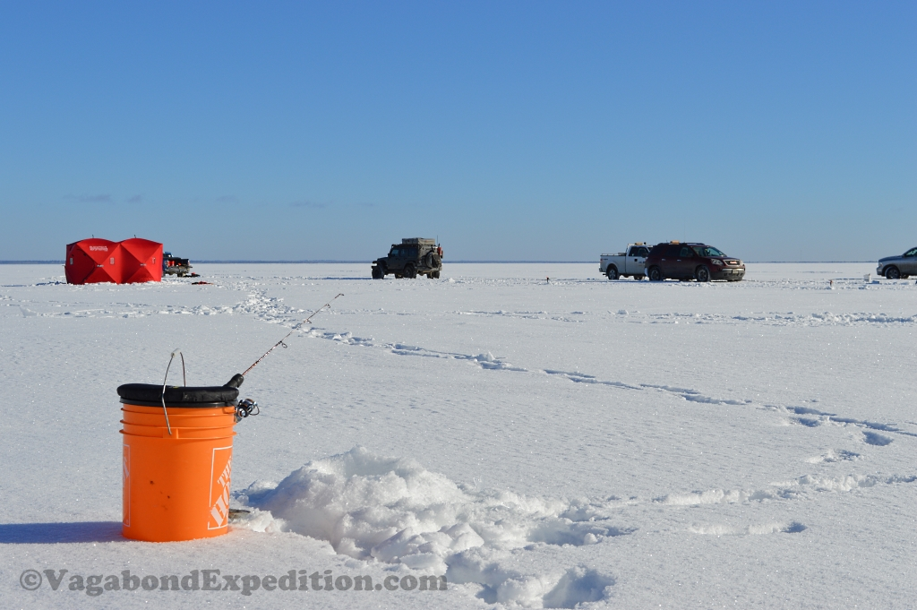 Athabasca Ice Fishing Adventure