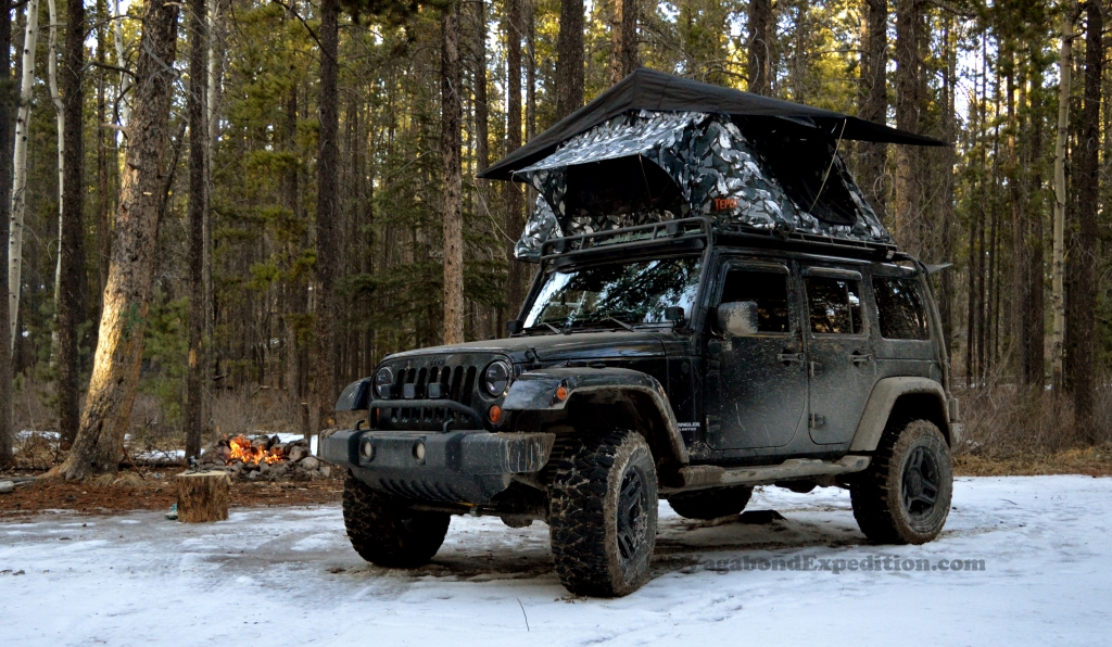 Winter Camping with the Jeep