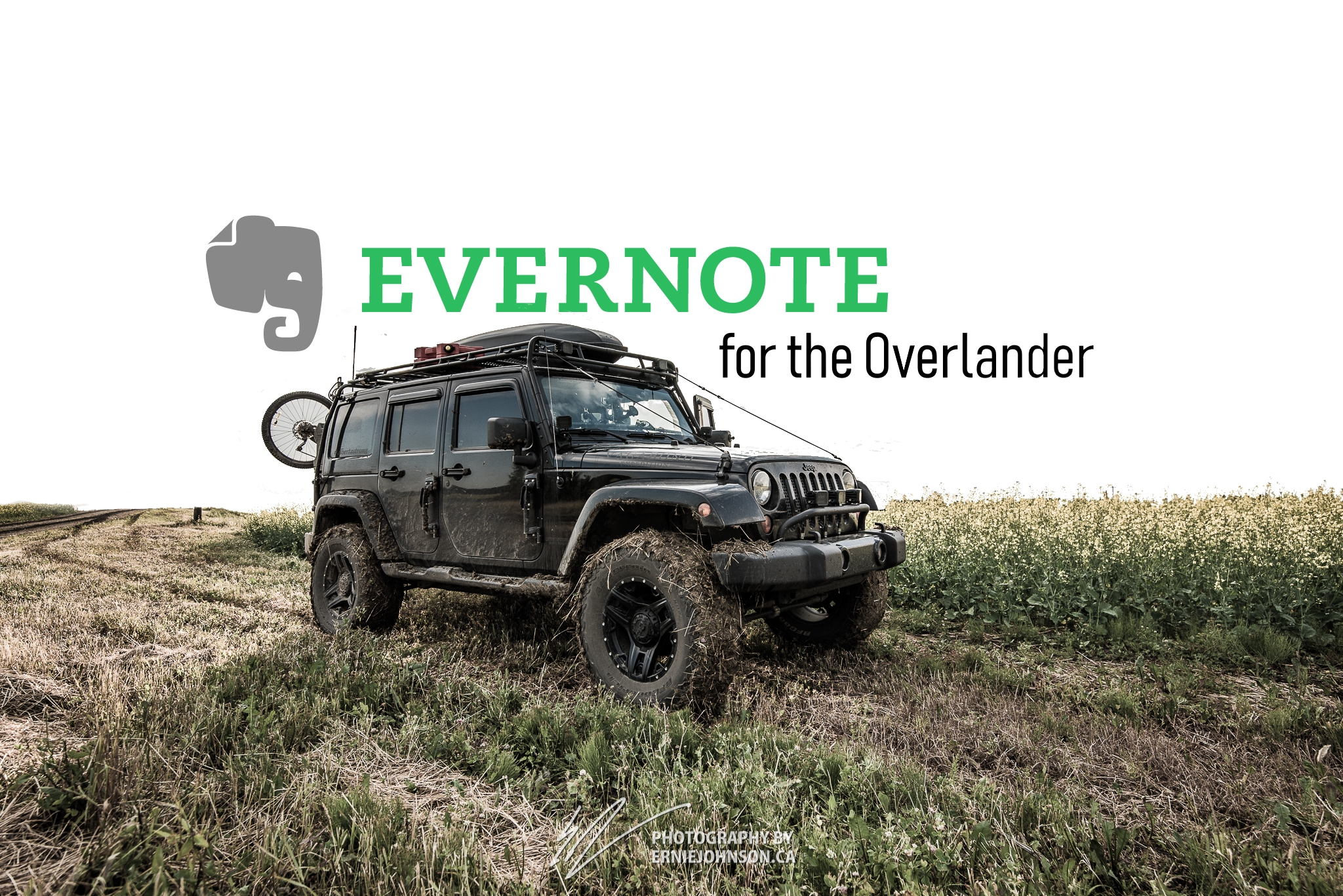 5 ways to begin Using Evernote as an Overlander
