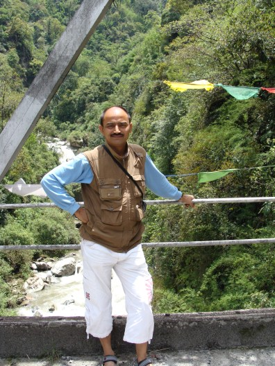 On the way to North Sikkim