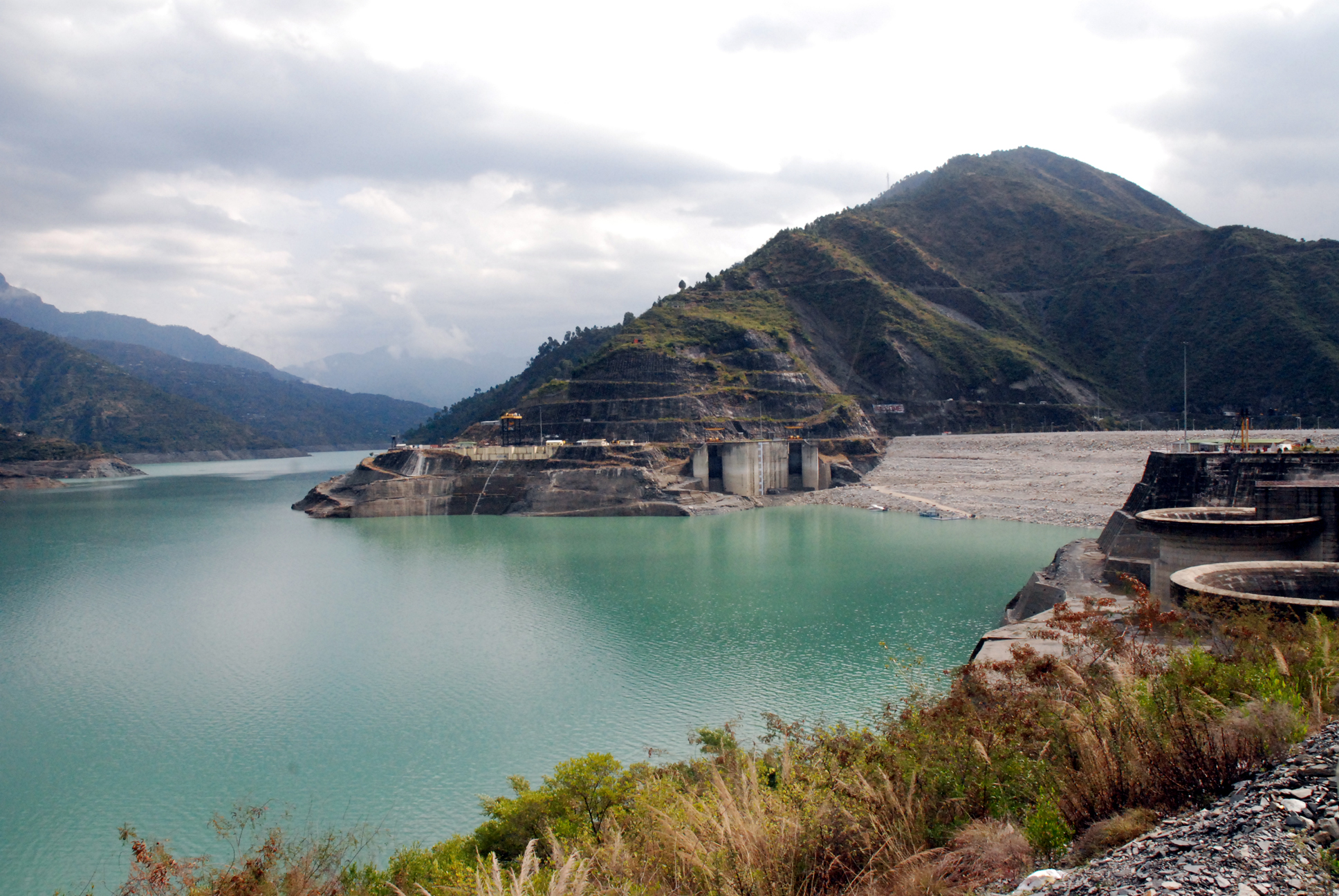 The river, the hills and the Tehri dam