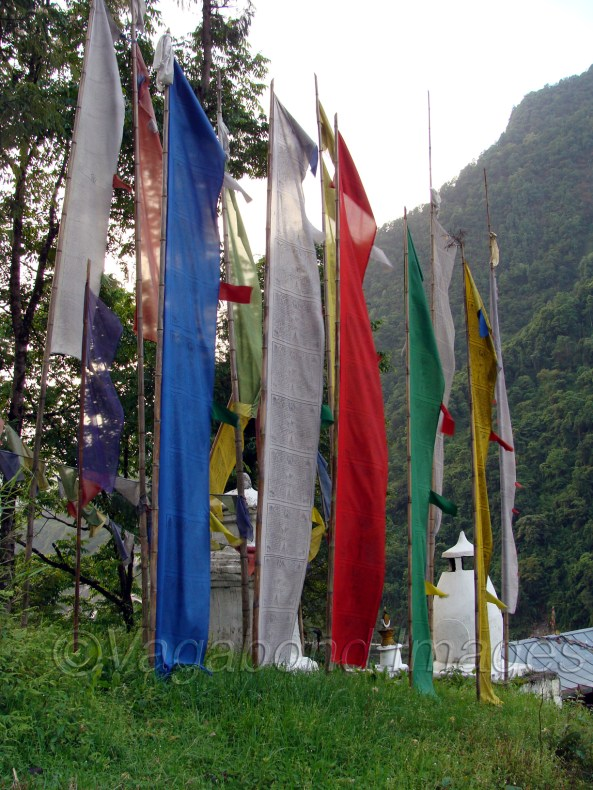 सिक्किम मुख्य रूप से एक बौद्ध बहुल राज् है। वहां हर ओर इसकी छाप मिलती है।