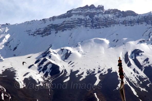 Mountains at Kaza