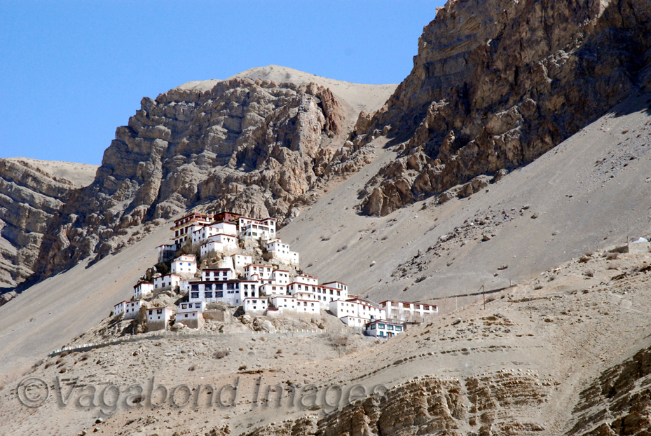 Kee Gompa in spiti valley of Himachal Pradesh