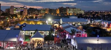 Bordeaux wine festival at Quebec city