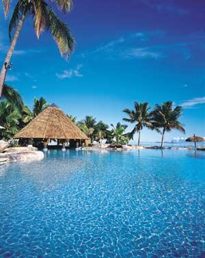 A resort in Fiji